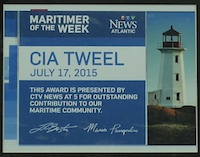 Cia Tweel CTV Maritimer of the Week02