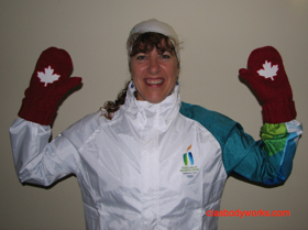 Cia Tweel and Olympic Mittens